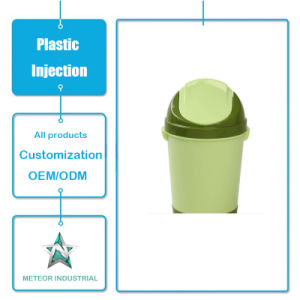 Customized Plastic Injection Moulding Products Daily Use Household Kitchen Plastic Dustbin pictures & photos