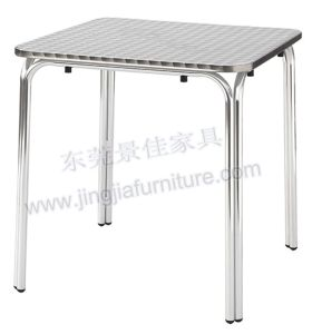 Aluminium Dining Coffee Garden Leisure Hotel Outdoor Furniture (JJ-TS04)