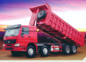 Sinotruk 8X4 Driving Type Dump Truck pictures & photos