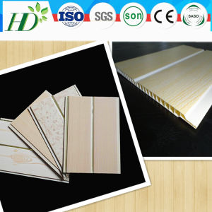 Middle Groove 200mm Hot Sell Plastic Ceiling Panel (RN-34) pictures & photos