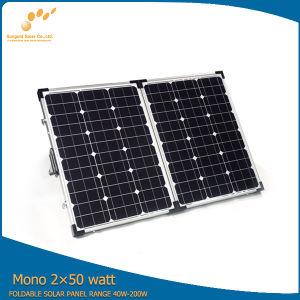 Factory+Mono+Poly+Protable 18V 100W Portable Solar Panel pictures & photos