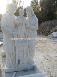 White Marble Stone Art Animal Carving Statue / Sculpture for Garden Decoration pictures & photos