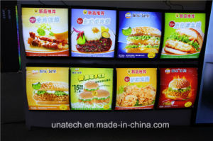 LED Indoor Catering Industry Kung Fu Menu Board Light Box Media Sign Billboard pictures & photos