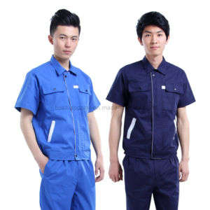 2016 Short Sleeve Work Uniforms of Factory Price (WU27) pictures & photos