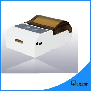 Fashion Portable Bluetooth Thermal Label Printer Barcode Mobile Printer pictures & photos