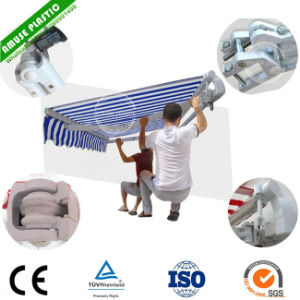 Outdoor Manual Aluminum Retractable Awning for Window Price pictures & photos