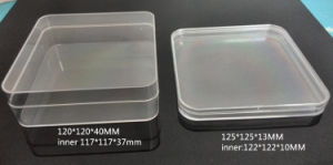 Clear Plastic Packaging Box with Round Corners pictures & photos