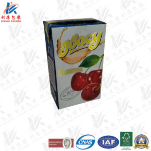 Aseptic Brick Carton with Metallic Effect pictures & photos