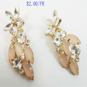 New Item Glass Acrylic Stones Fashion Jewellery Earrings pictures & photos