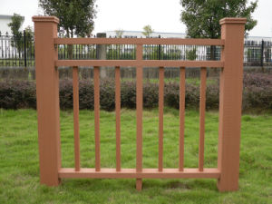 Durable and Free Maintain Garden Fencing Railing /Gazebo Fancing/Wood Railing pictures & photos