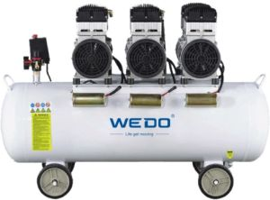 1.1kw 180L Tank Oilless (oil-free) Air Compressor pictures & photos