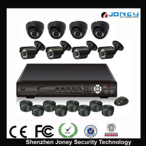New Product DVR Kit of H. 264 4CH DVR CCTV Camera Kit Used in CCTV System pictures & photos