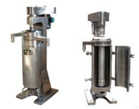 Tubular Type Industrial Centrifuge for Continuous Treatment of Material pictures & photos