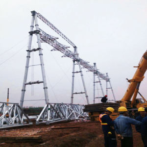 220kv Steel Tube Power Transmission Substation Architecture pictures & photos