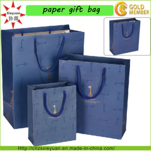 Custom Logo and Size Paper Hand Bag pictures & photos