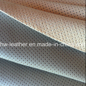 Real Microfiber Fabric with Punching Hole for Car Seat (HW-1750) pictures & photos