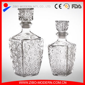 Wholesale Customized Design Fancy Glass Wine Bottles pictures & photos