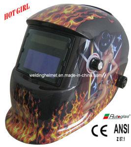 AAA Battery Auto-Darkening Welding Helmet (E1190TB) pictures & photos