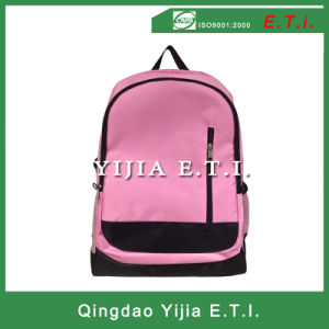 Pink Polyester Backpack Bag pictures & photos
