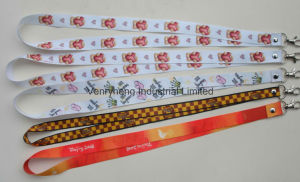 Custom Fashion Style Good Quality Colorful Reflective Lanyards pictures & photos
