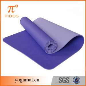 Latest 100% Eco-Friendly TPE Yoga Mat pictures & photos