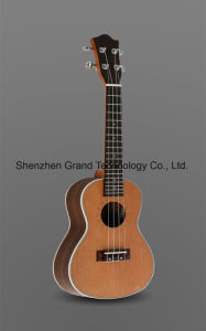 "23"" Korean Pine Solid Mahogany Neck Concert Ukulele pictures & photos"