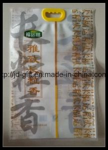 3 Side Heat Sealed Food Packing Laminated Handle Bag pictures & photos