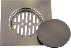 Stainless Steel Floor Drain Bronze Color (YD-S013)