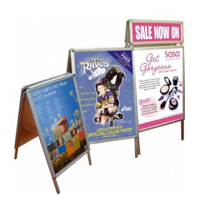 Hot Sale Free Standing a Banner Stands pictures & photos
