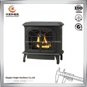 2017 Popular Style Wood Stove Cast Iron Wood Burning Stove pictures & photos