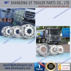 19.5′′ Polished Trailer Aluminum Wheel Rim European & American Type pictures & photos