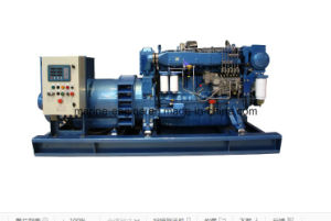 125kVA/100kw Weichai Diesel Marine Genset with  Wp6CD132e200 Engine pictures & photos