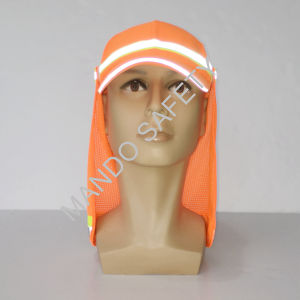 Polyester Taslon Cap with Reflective Tapes pictures & photos
