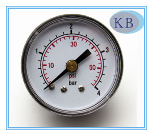 "Normal Dry Pressure Gauge Black Steel Plastic Case 2"" pictures & photos"