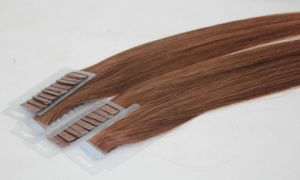 PU Glue Tape Remy Human Hair Extension pictures & photos