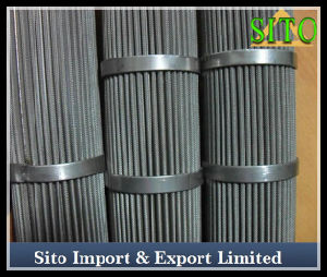 Stainless Steel Woven Wire Mesh Strainer for Oil/Gas Filtration pictures & photos