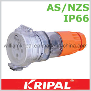 IP66 5pin 32A Industrial Socket Connector pictures & photos