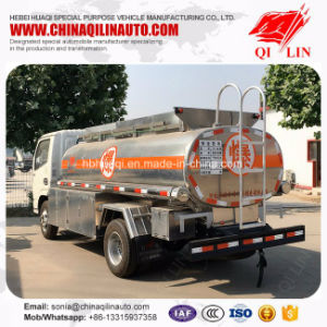 Dongfeng Rhd 4X2 Oil Refueling Tank Truck with Oil Pump pictures & photos