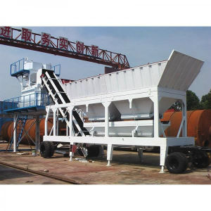 75m³ /H Mobile and Flexible Concrete Mixing Plant pictures & photos