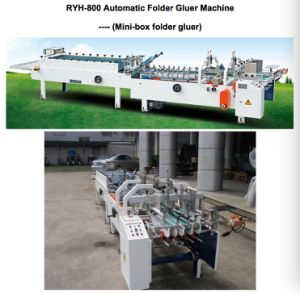 Automatic Folder Gluer Machine -- (Mini-box folder gluer) pictures & photos