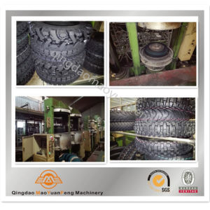 Motorcycle Rubber Tyre Tire Curing Machine with ISO BV SGS pictures & photos