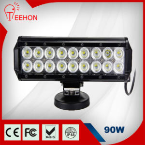 Wholesale 2-Row 9 Inch 90W Osram LED Light Bar pictures & photos