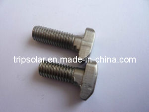 SUS304 Security T Head Screws for Solar Mounting System