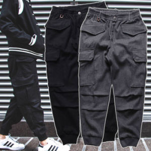 Black / Grey Jogger Sports Pants Thick Winter Trousers pictures & photos
