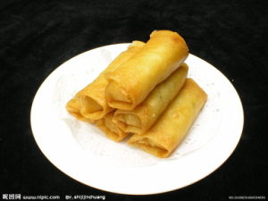 Salt Tsing Tao Vegetable Frozen 15g/piece Spring Rolls pictures & photos