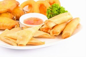 IQF Frozen Tsing Tao Vegetable Frozen 15g/piece Spring Rolls pictures & photos