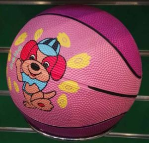 New Design Rubber Basketball in Rubber Material pictures & photos