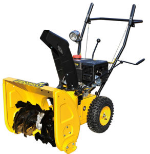 Cheap Gasoline Loncin 6.5HP Snow Thrower with Light (Zlst651qe pictures & photos