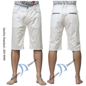 New Design Men′s Shorts, Bleach Shorts (PS1216)