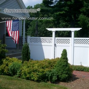 100% Virgin Vinyl Fence pictures & photos